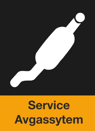 Service avgassystem