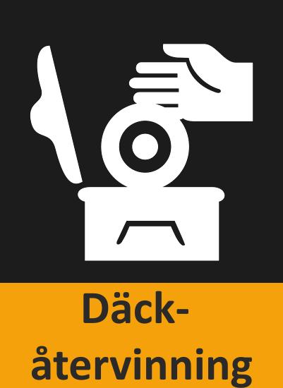 Här ser du en ikon över att BestDrives verkstäder kan erbjuda däckåtervinning.
