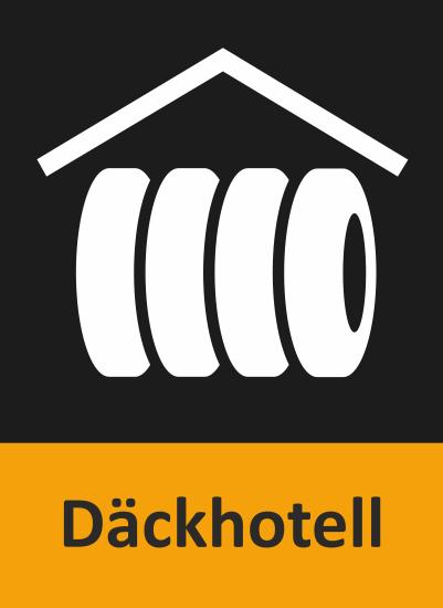 Här ser du en liten ikon över att många av BestDrives verkstäder är däckhotell.