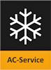 Här ser du en liten ikon över AC-service.