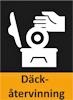 Här ser du en ikon över att BestDrive kan erbjuda däckåtervinning.