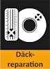 Här ser du en liten ikon över att BestDrive kan laga bildäck mm.