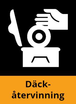 Återvinning av däck
